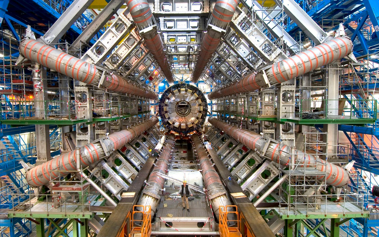 image of the Large Hadron Collider / ATLAS at CERN