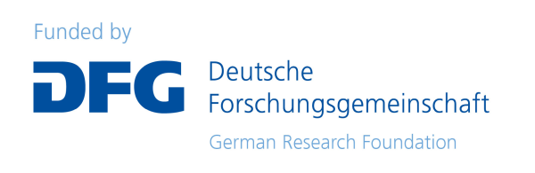 Funding logo of the Deutsche Forschungsgmeinschaft (German Research Foundation)