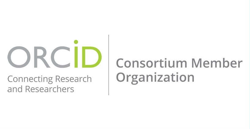 ORCID Consortium Member Organization logo(ORCID logo on the left side, text 'Consortium Member Organization' on the right side)