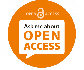 Logo Ask me about open access