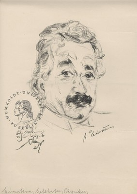 Emil Stumpp: Albert Einstein